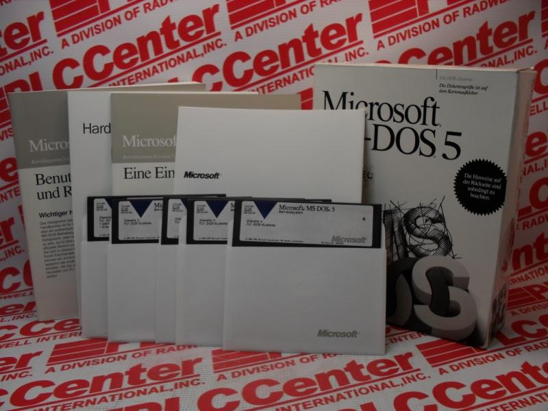MICROSOFT MSDOS-5.0
