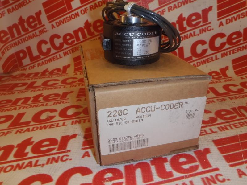 ACCU CODER 220C-12-0012-PU-.625-S
