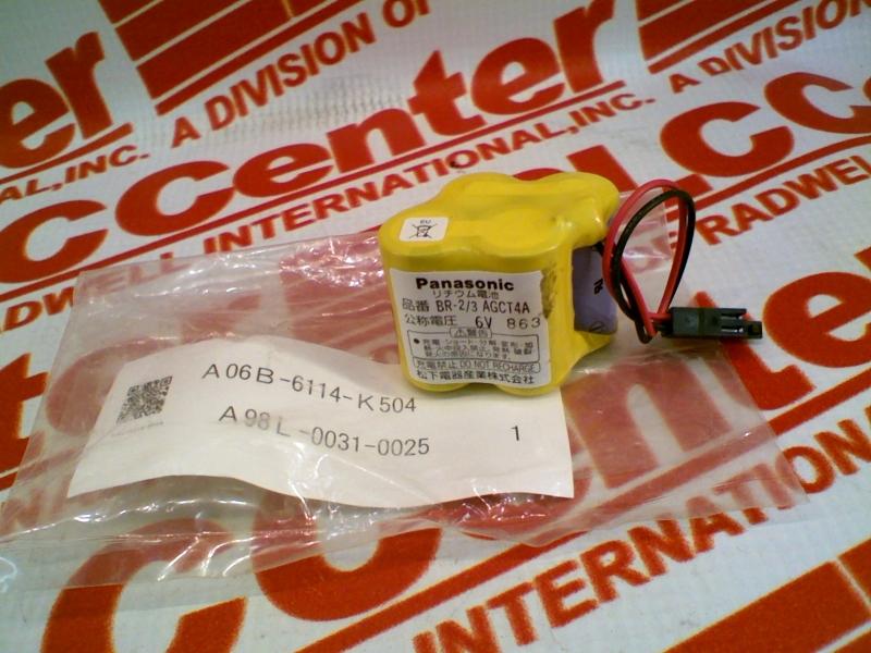 GENERAL ELECTRIC A06B-6114-K504