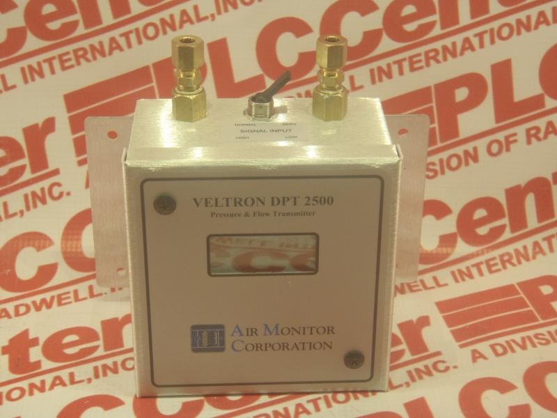 AIR MONITOR CORP VELTRON-DPT-2500-PLUS