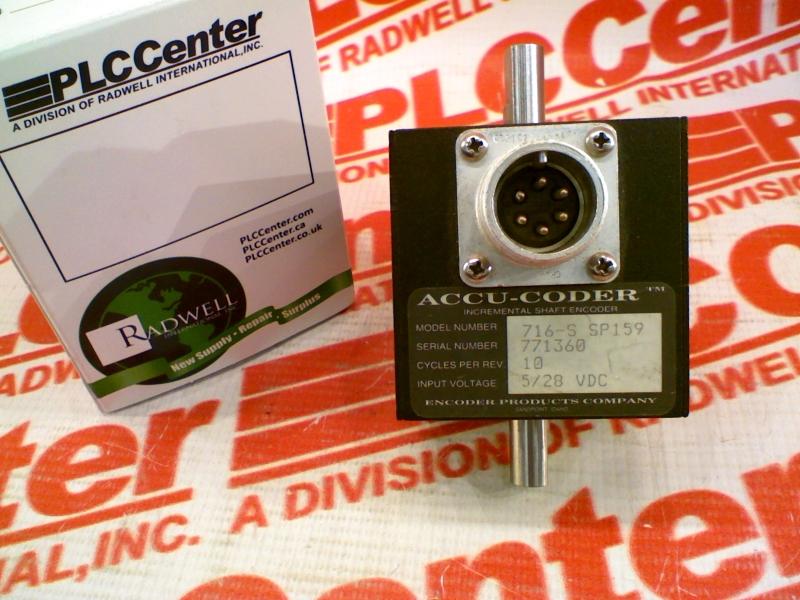 ACCU CODER 716-0010-O-P-S-S-6-D-S-N