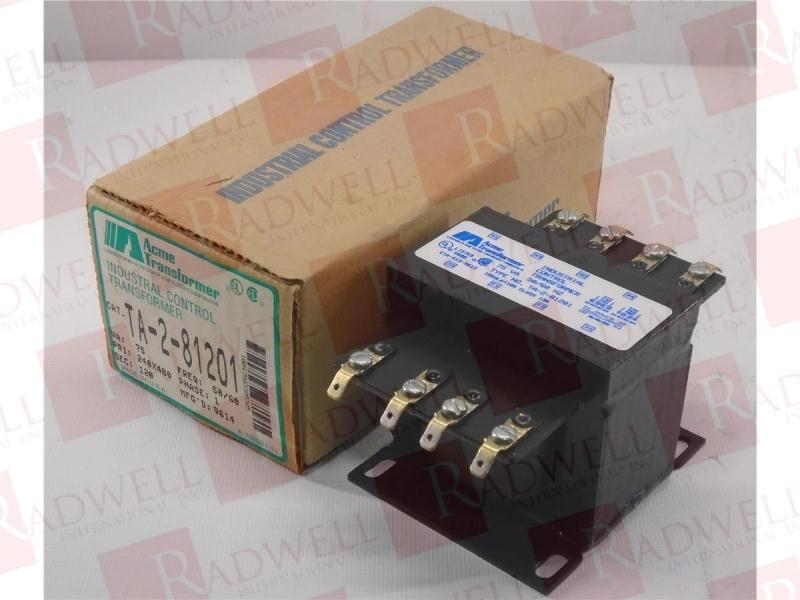 ACME ELECTRIC TA-2-81201