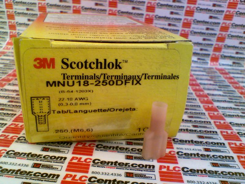 3M TAPE DIVISION MNU18-250DFIX