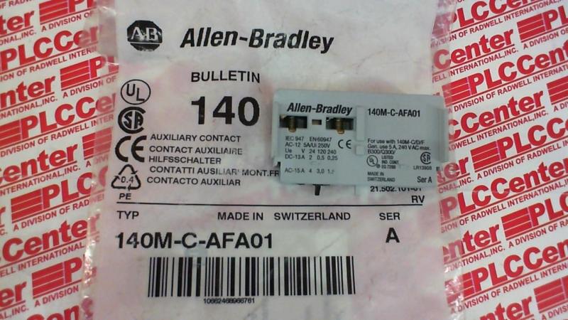 ALLEN BRADLEY 140M-C-AFA01