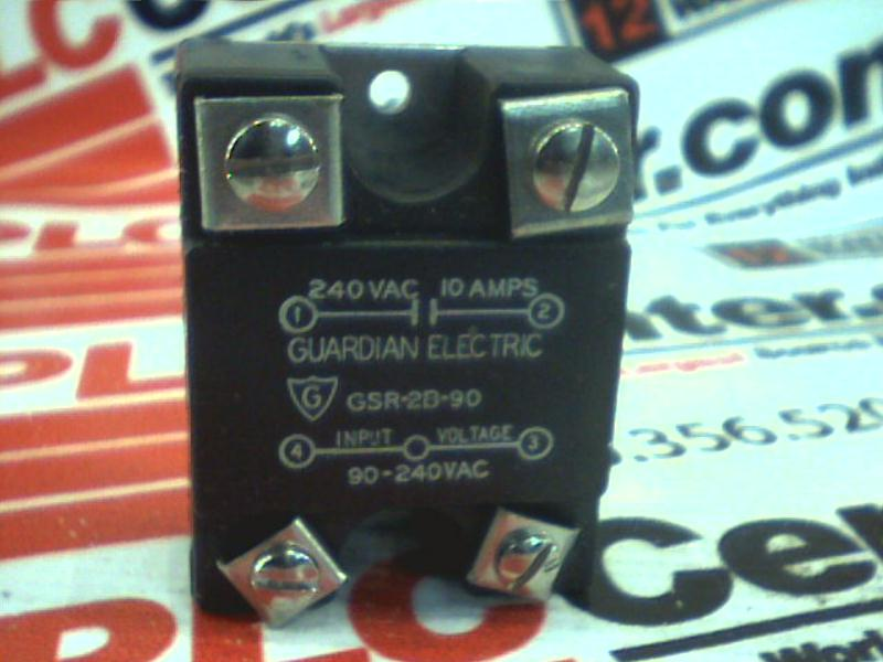 GUARDIAN ELECTRIC CO GSR-2B-90
