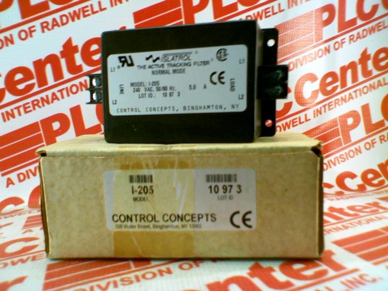 CONTROL CONCEPTS I-205