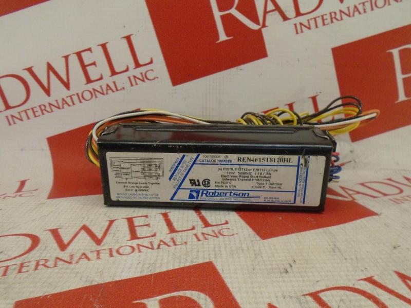 ROBERTSON TRANSFORMER REN4F15T8120HL