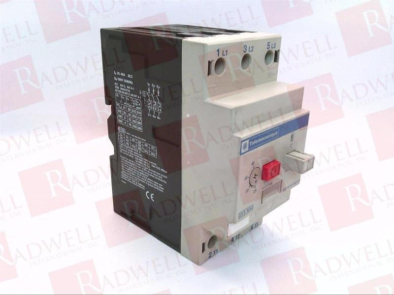SCHNEIDER ELECTRIC GV3-M40