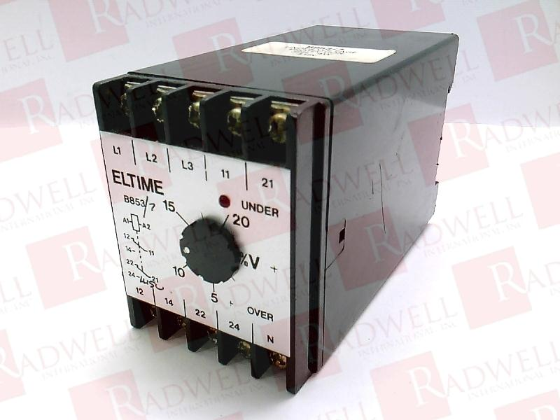 ELTIME CONTROLS B853/7