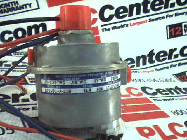 BEC CONTROLS R72-B1-AC-218