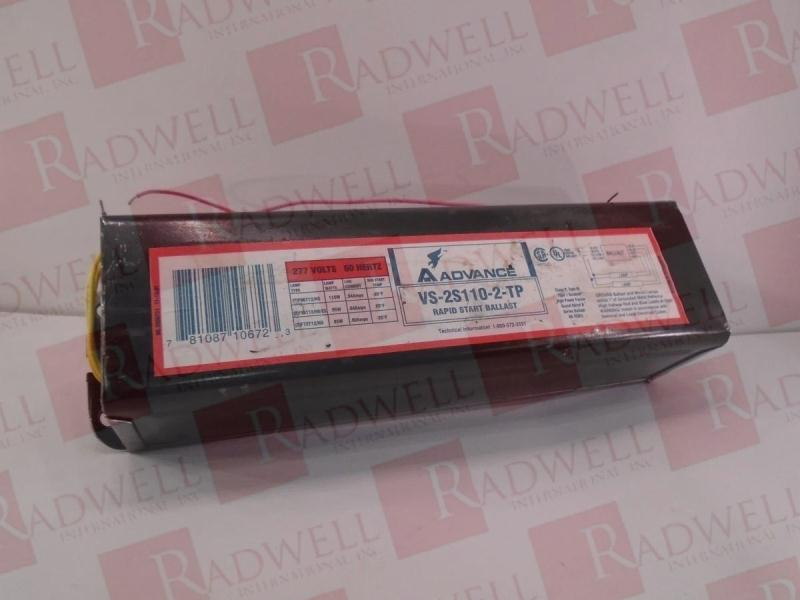 ADVANCE BALLAST VS-2S110-2-TP