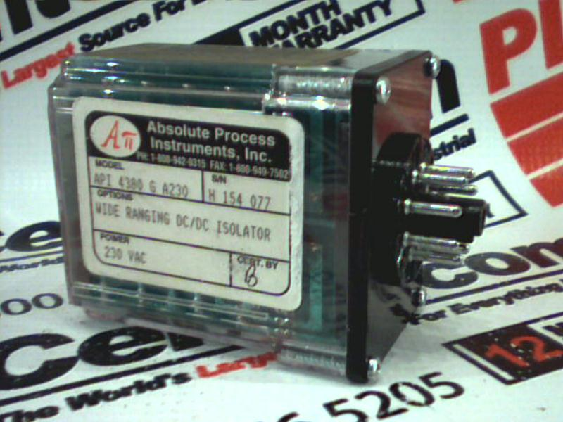 ABSOLUTE PROCESS INSTRUMENTS API-4380-G-A230