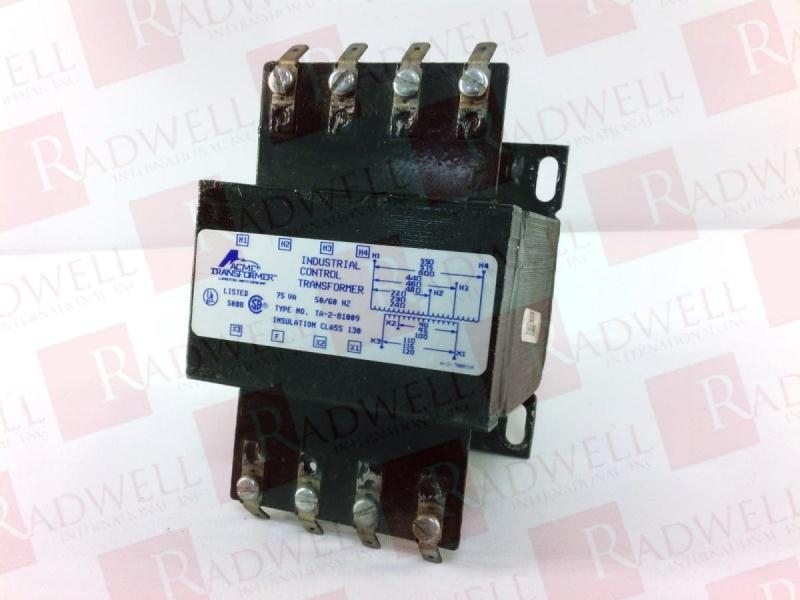 ACME ELECTRIC TA-2-81009