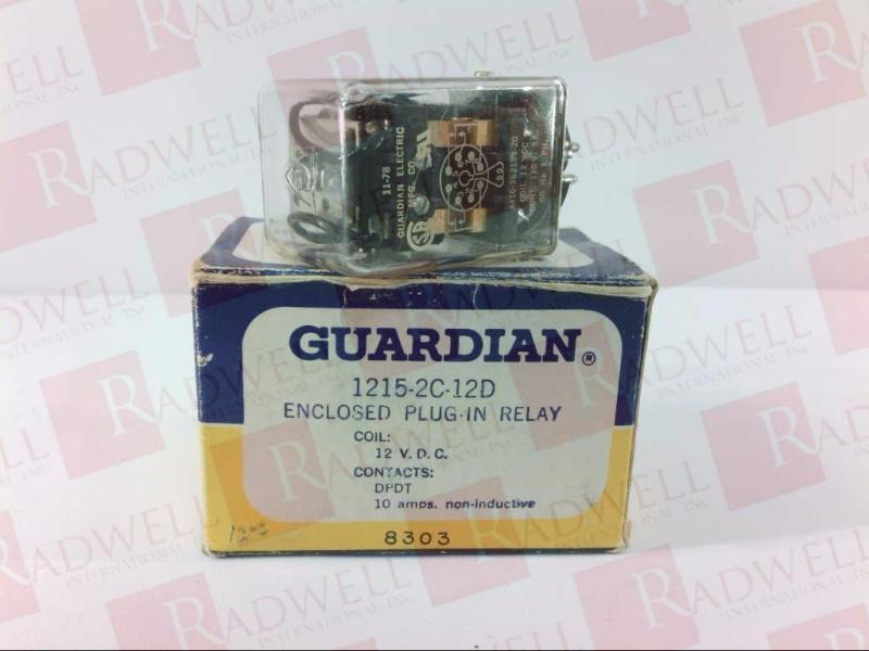 GUARDIAN ELECTRIC CO 1215-2C-12D