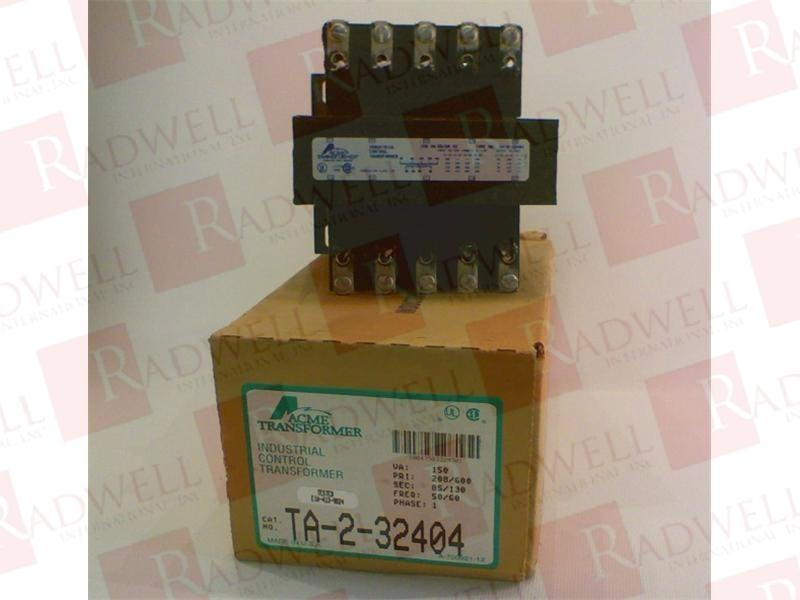 ACME ELECTRIC TA-2-32404