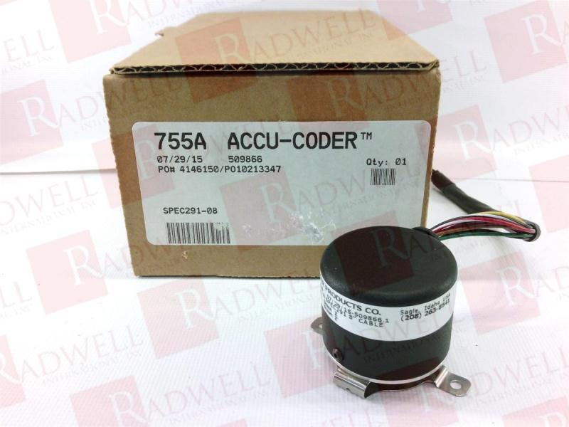 ACCU CODER 755A-02-H-0500-R-HV-1-S-S-N