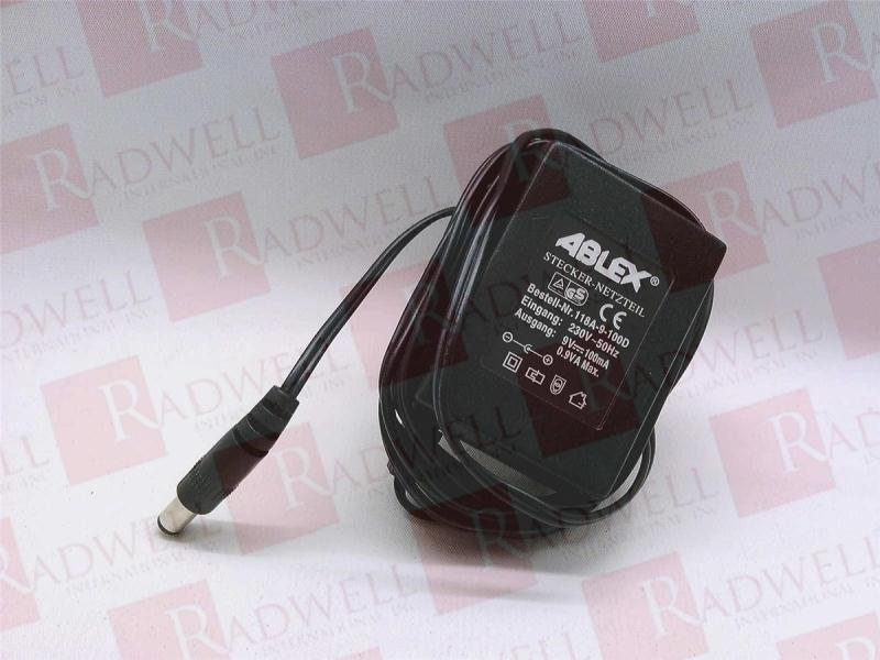 ABLEX POWER SUPPLIES LIMITED 118A-9-100D