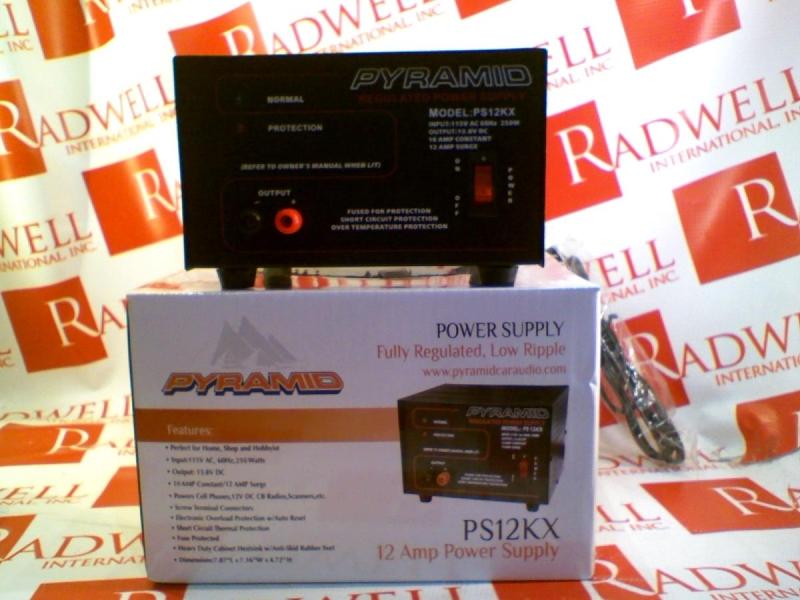 PYRAMID PS12KX