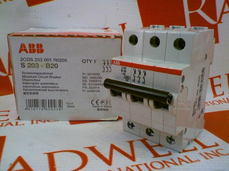ABB 2CDS253001R0205