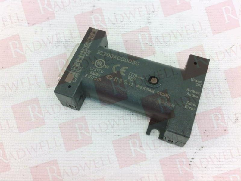 GENERAL ELECTRIC IC200ACC003