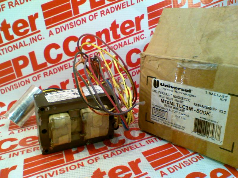 UNIVERSAL LIGHTING TECHNOLOGY M70MLTLC3M-500K