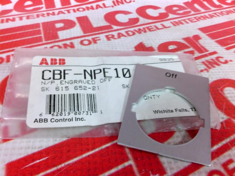 ABB CBF-NPE10