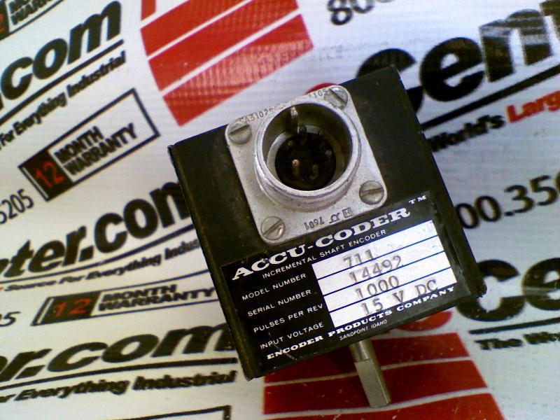 ACCU CODER 711-1000-HV-S-4-S-Y-N