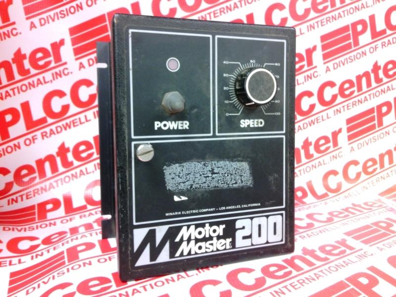 MINARIK DRIVES MM200
