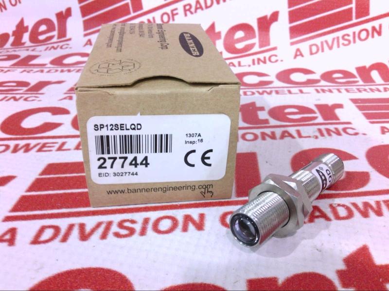 BANNER ENGINEERING SP12SELQD