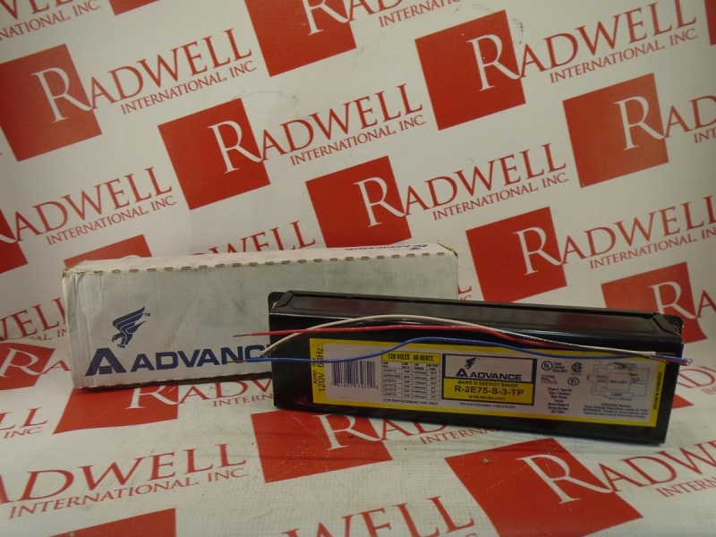 ADVANCE BALLAST R-2E75-S-3-TP