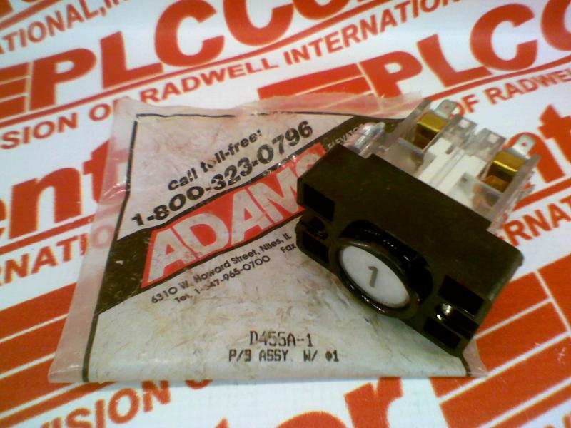 ADAMS ELEVATOR D455A-1