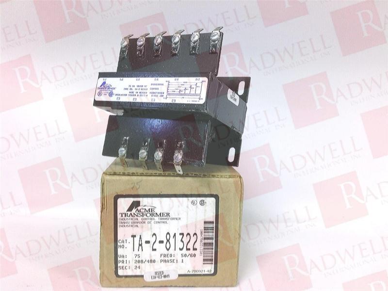 ACME ELECTRIC TA-2-81322