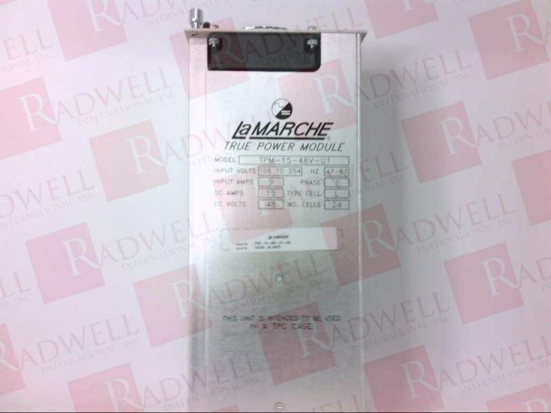 LAMARCHE TPM-15-48V-U1