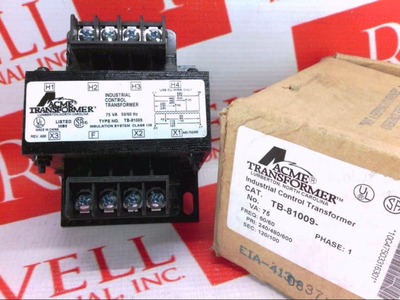 ACME ELECTRIC TB-81009
