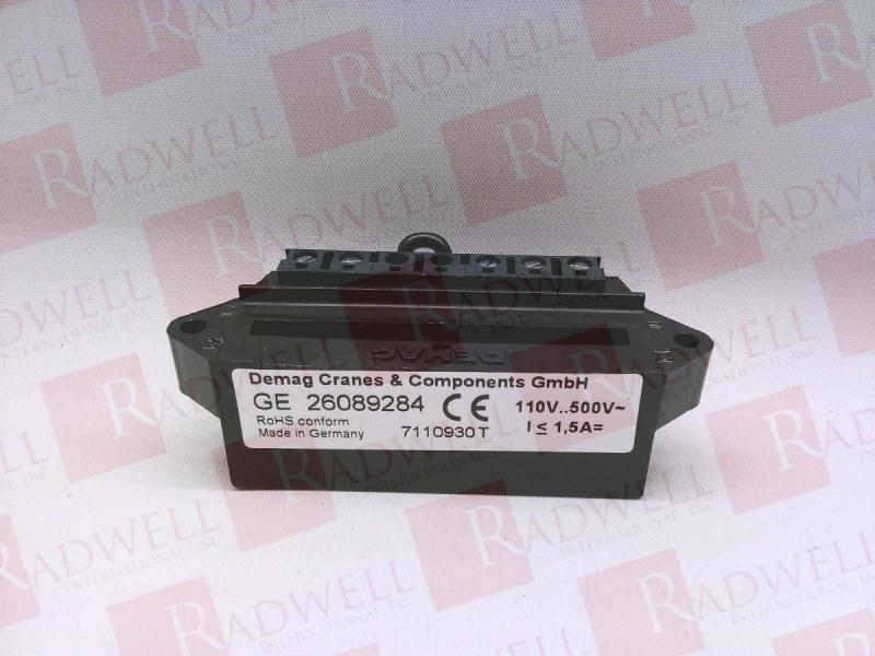 26089284 By Demag - Buy Or Repair At Radwell