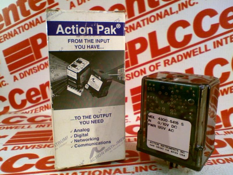 ACTION PAK 4300-5415-S