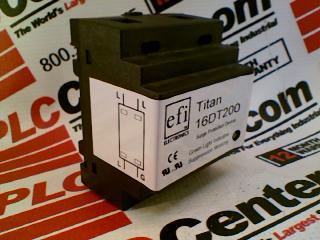 EFI ELECTRONICS 16DT200