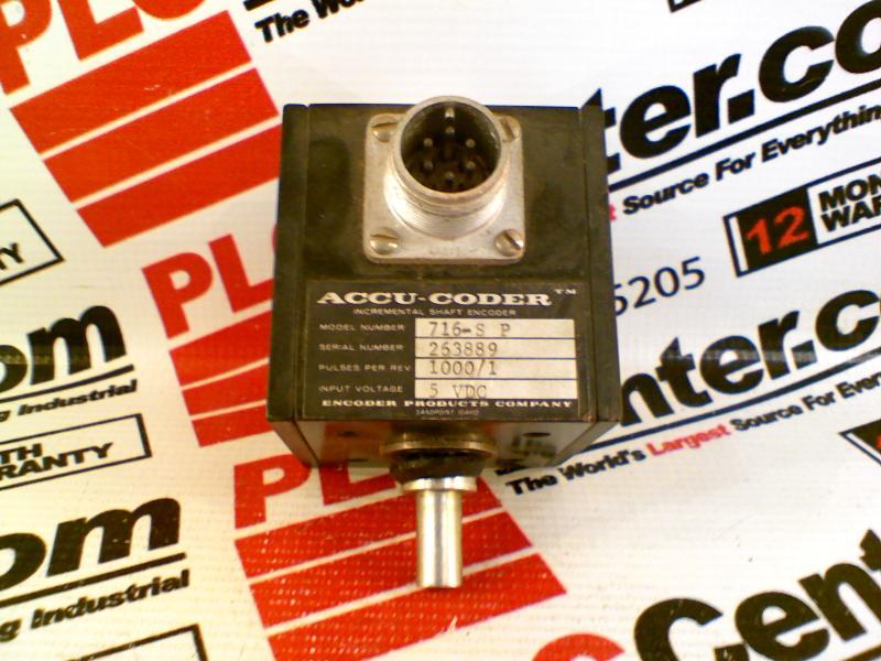 ACCU CODER 716-S-P