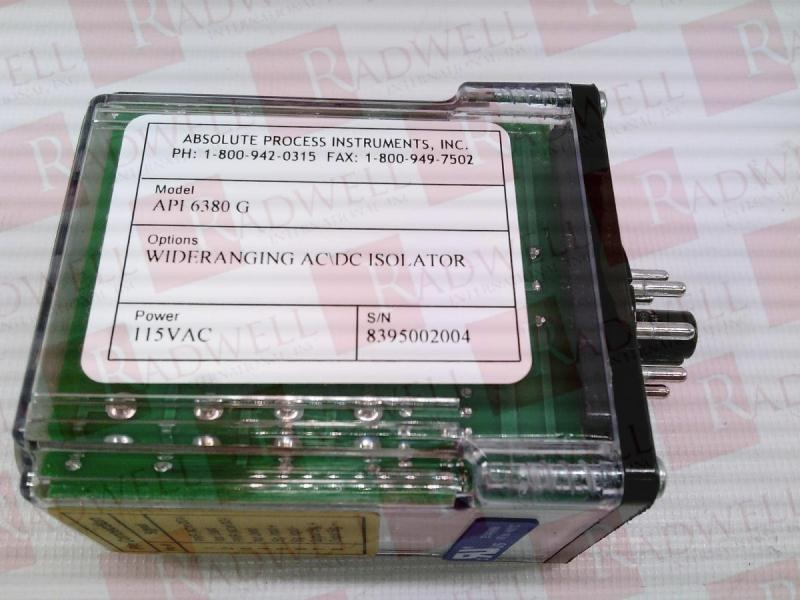 ABSOLUTE PROCESS INSTRUMENTS API-6380-G