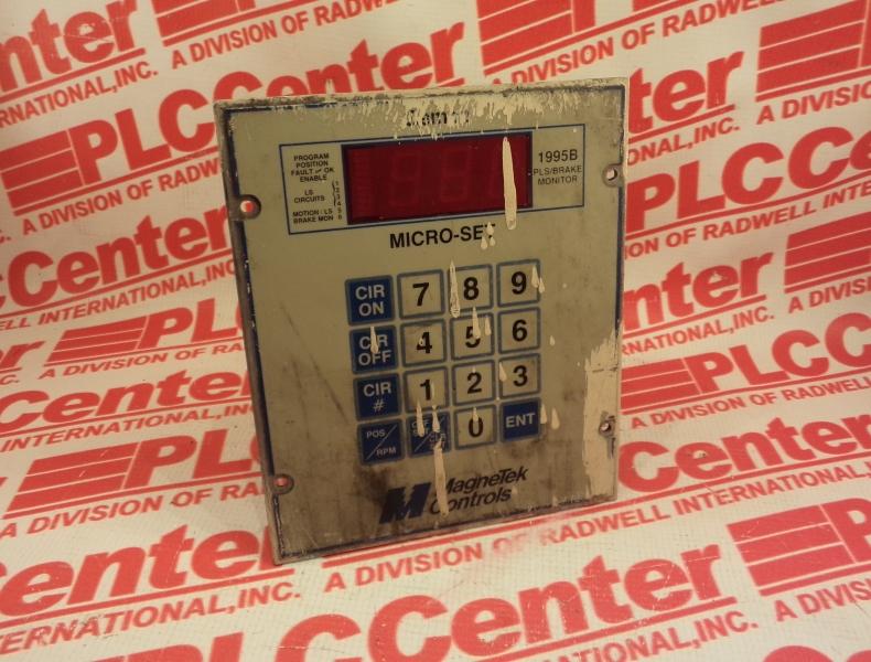 MAGNETEK CONTROLS 1995-1406
