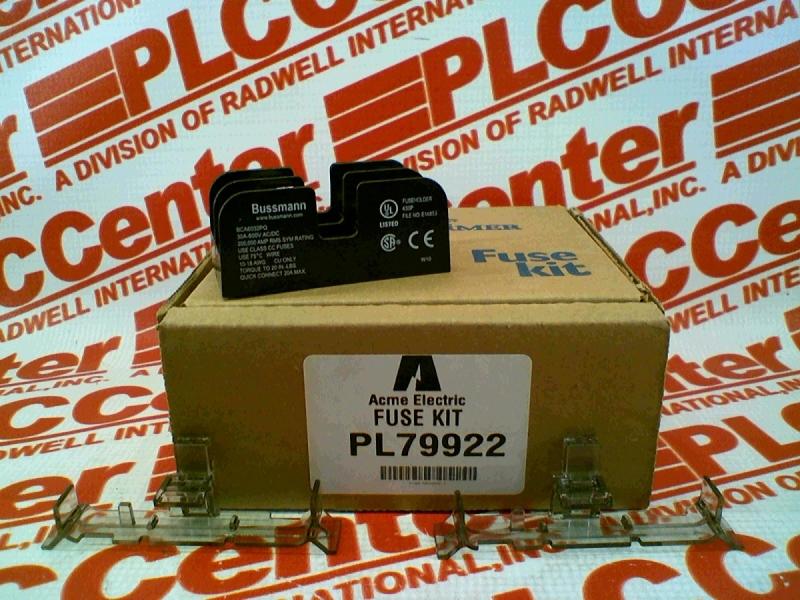 ACME ELECTRIC PL79922