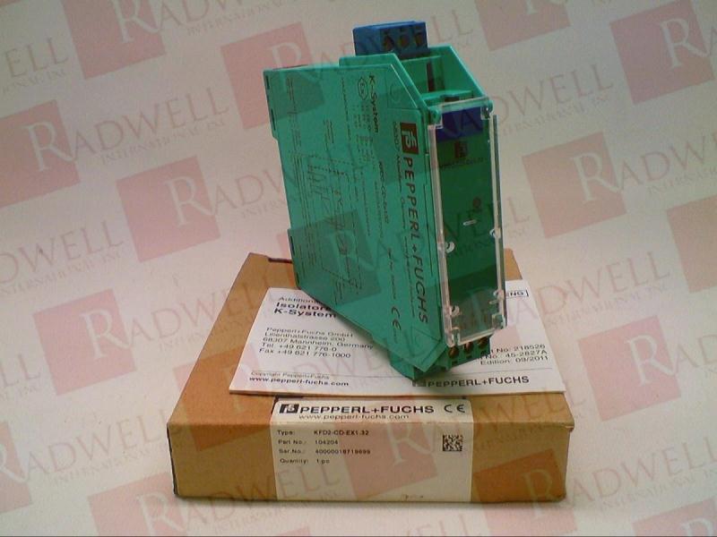 PEPPERL & FUCHS KFD2-CD-EX1.32