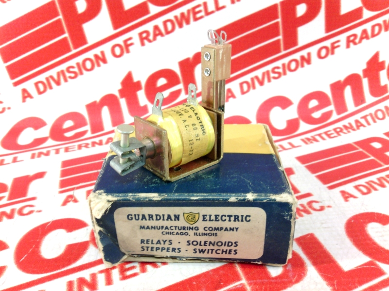 GUARDIAN ELECTRIC CO 24S-C-120V