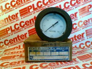 ACME GAUGE & INSTRUMENT 4-1/2-FM381-1/4CBM-0-30VACU