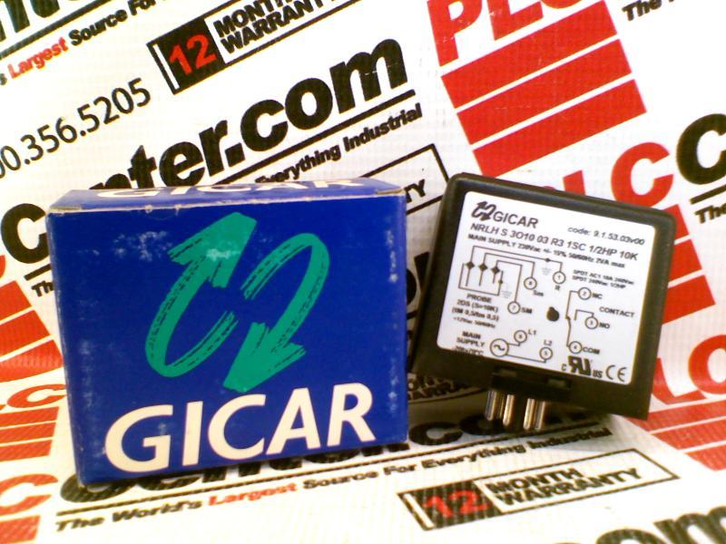 GICAR NRLH-S-3O10-03-R3-1SC-1/2HP-10K