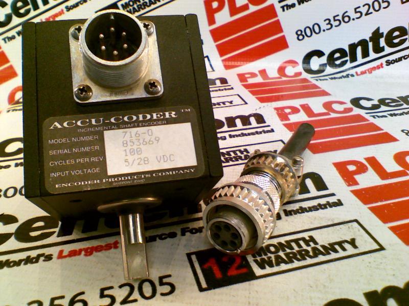 ACCU CODER 716-0100-S-S-6-S-S-Y
