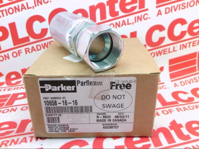 PARKER PARFLEX DIV 10658-16-16
