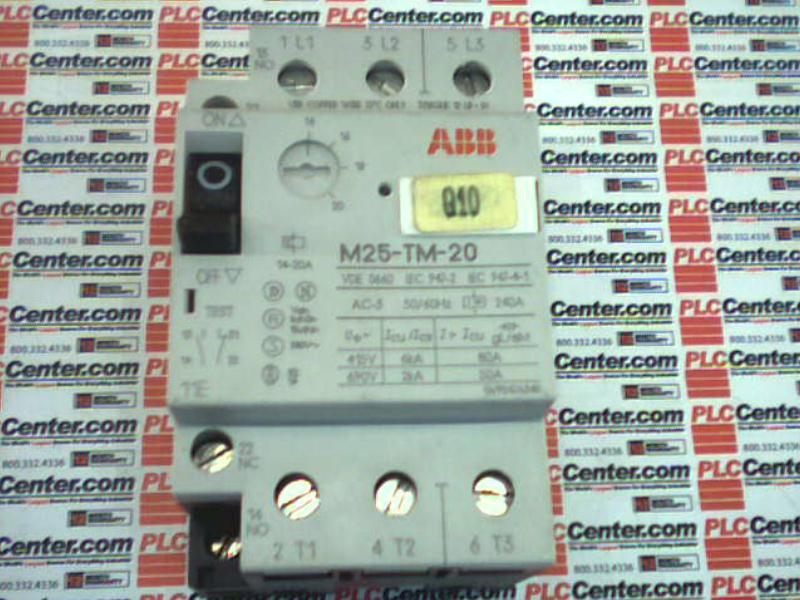 ABB M25-TM-20