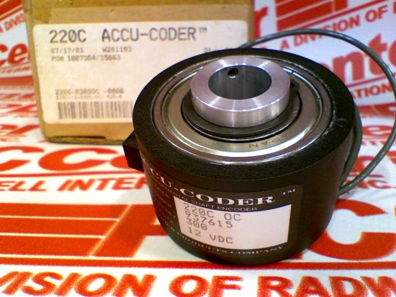 ACCU CODER 220C-12-0300-OC-.625-S