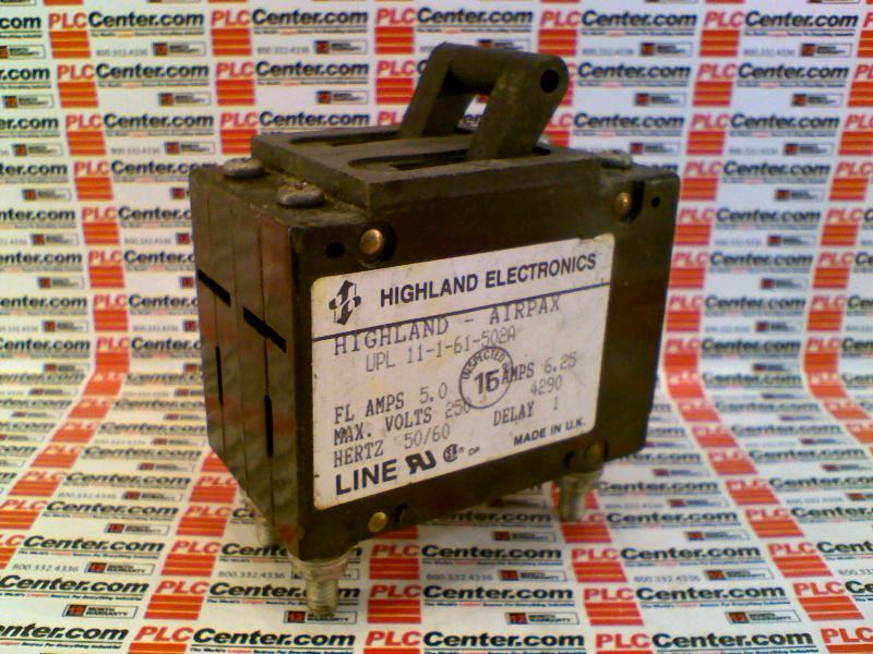 HIGHLAND ELECTRONICS CO UPL-11-1-61-502A